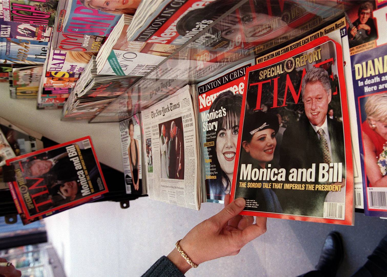 Bill Clinton Monica Lewinsky Affair Hillary documentary