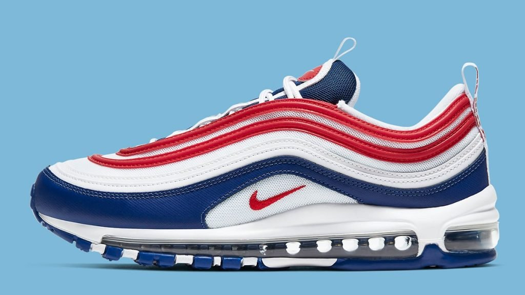 Nike Air Max 97 USA White Navy Red CW5584 100 Release Date SBD