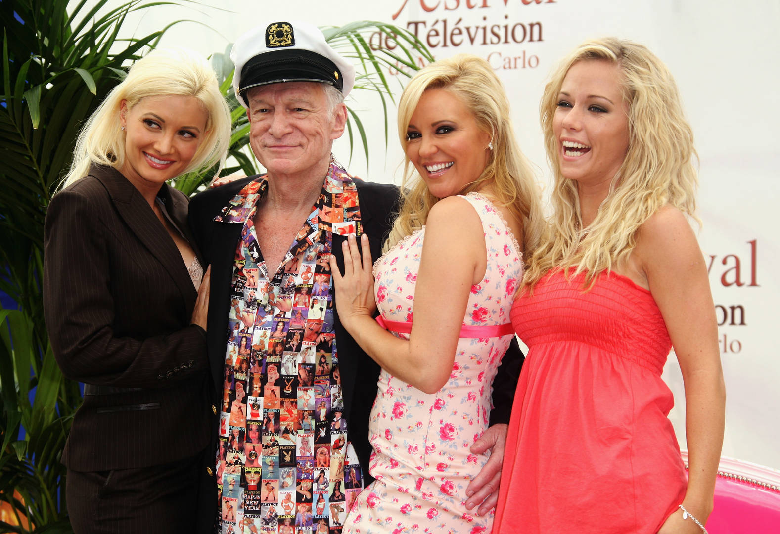 Playboy Playmate of the Year Playmate of the Month magazine honour award celebrate Hugh Hefner