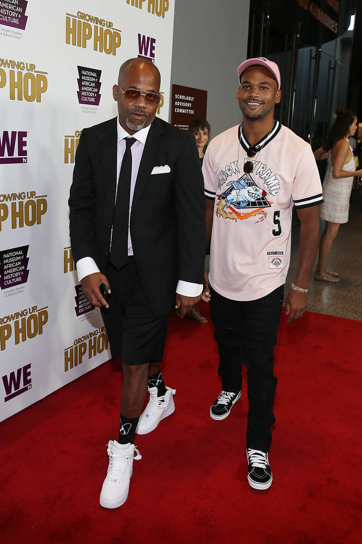 Dame Dash Damon Boogie Dash II Growing Up Hip Hop producers lawsuit court dismiss claims allegations alcohol
