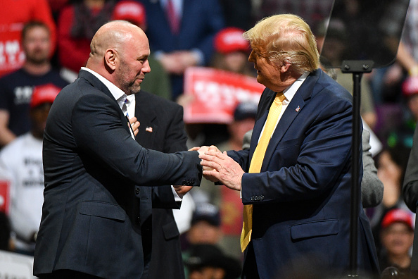 Dana White, Donald Trump
