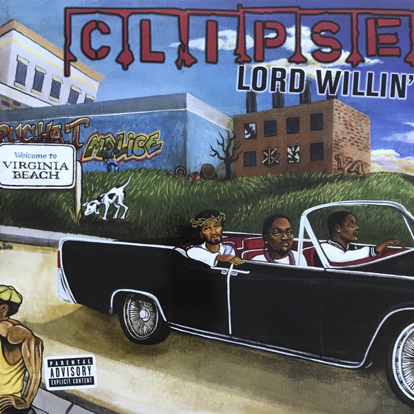 Clipse Lord Willin  cover art - top 25 best hip-hop debut albums of the century
