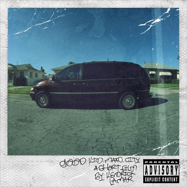 good kid, maad city cover art - best debut rapper albums of the century