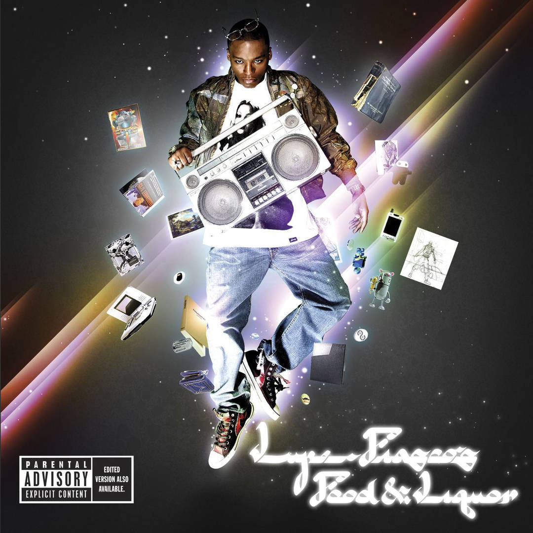 Lupe Fiasco food & liquor album cover - top 25 best debut rapper albums of the century