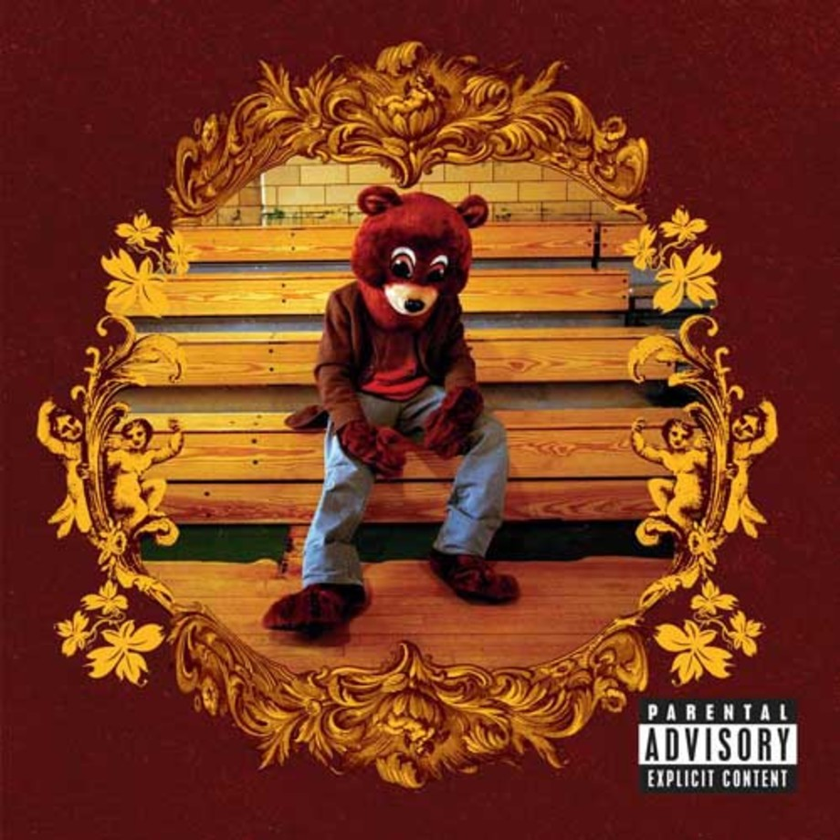 kanye west college dropout album cover - best debut albums of the century