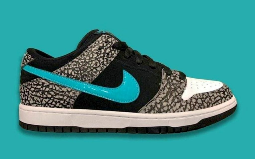 """Nike SB Dunk Low Releasing In Atmos-Inspired """"Elephant"""" Design"""