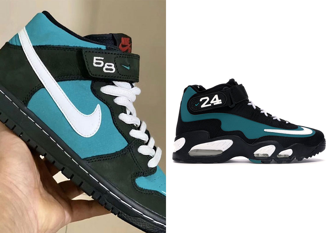 New Nike SB Dunk Mid Nods To Classic Air Griffey Sneaker