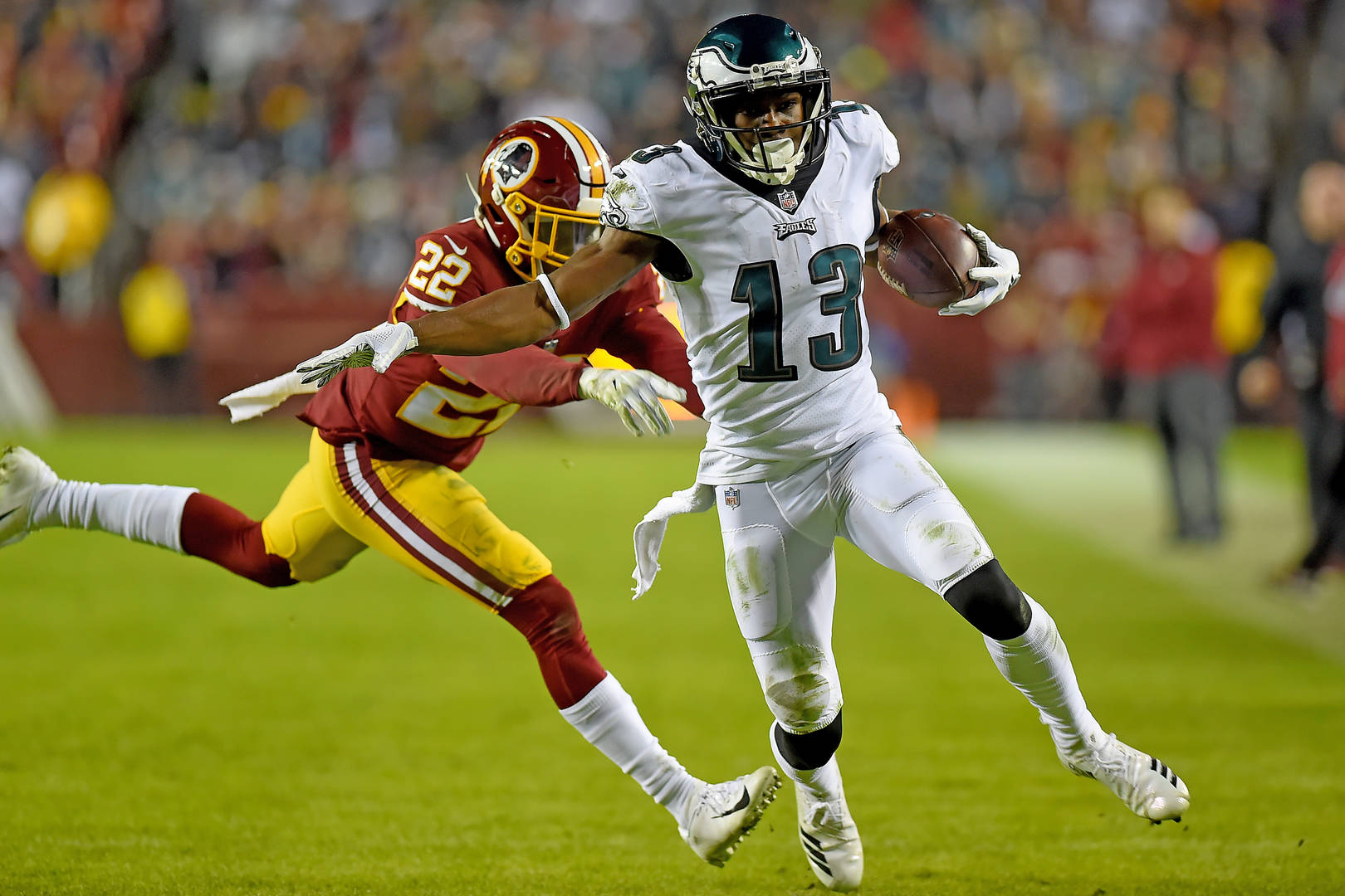 Nelson Agholor To Sign One-Year Deal With Las Vegas Raiders: Report