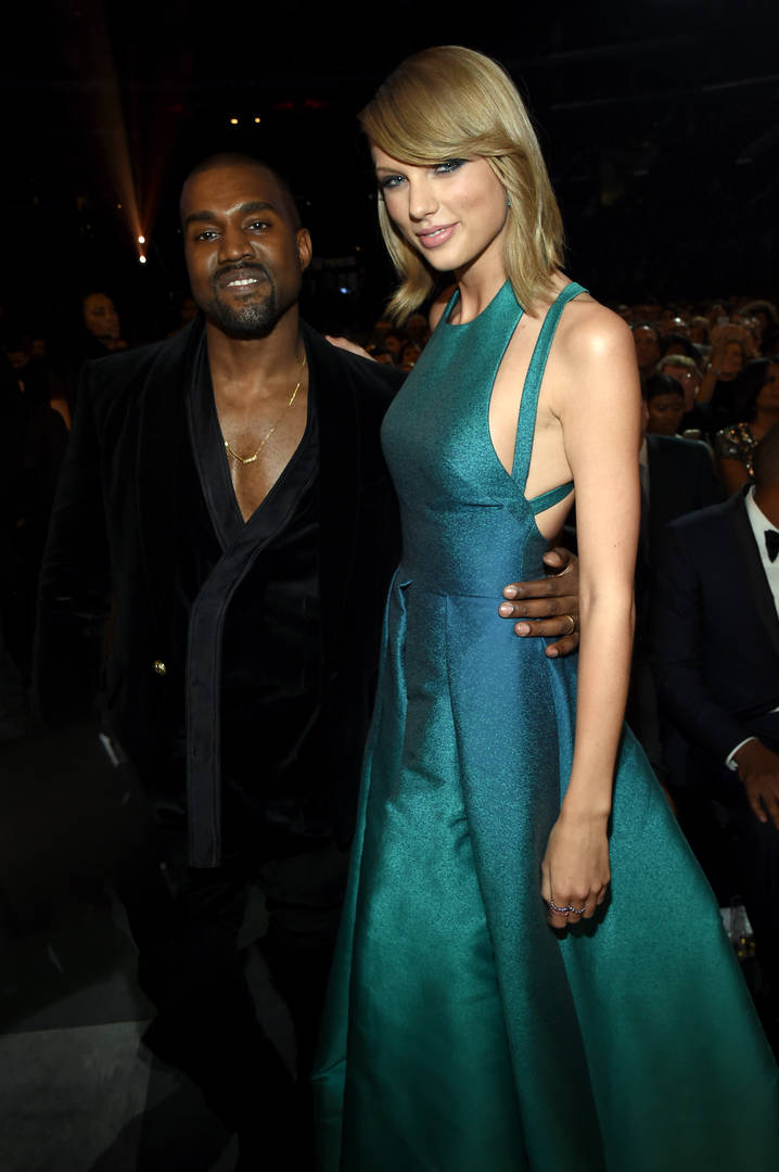 Taylor Swift Kanye West Kim Kardashian