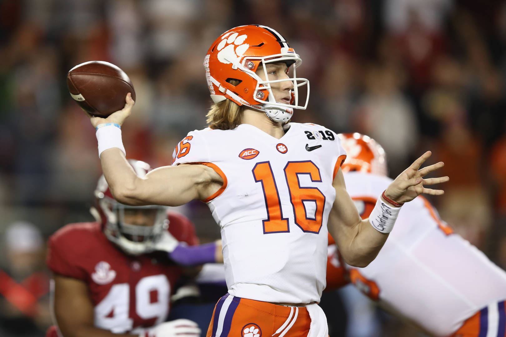 Trevor Lawrence Clemson University Tigers Quarterback Coronavirus GoFundMe Fundraiser NCAA shut down approved violation raise money crowdfunding