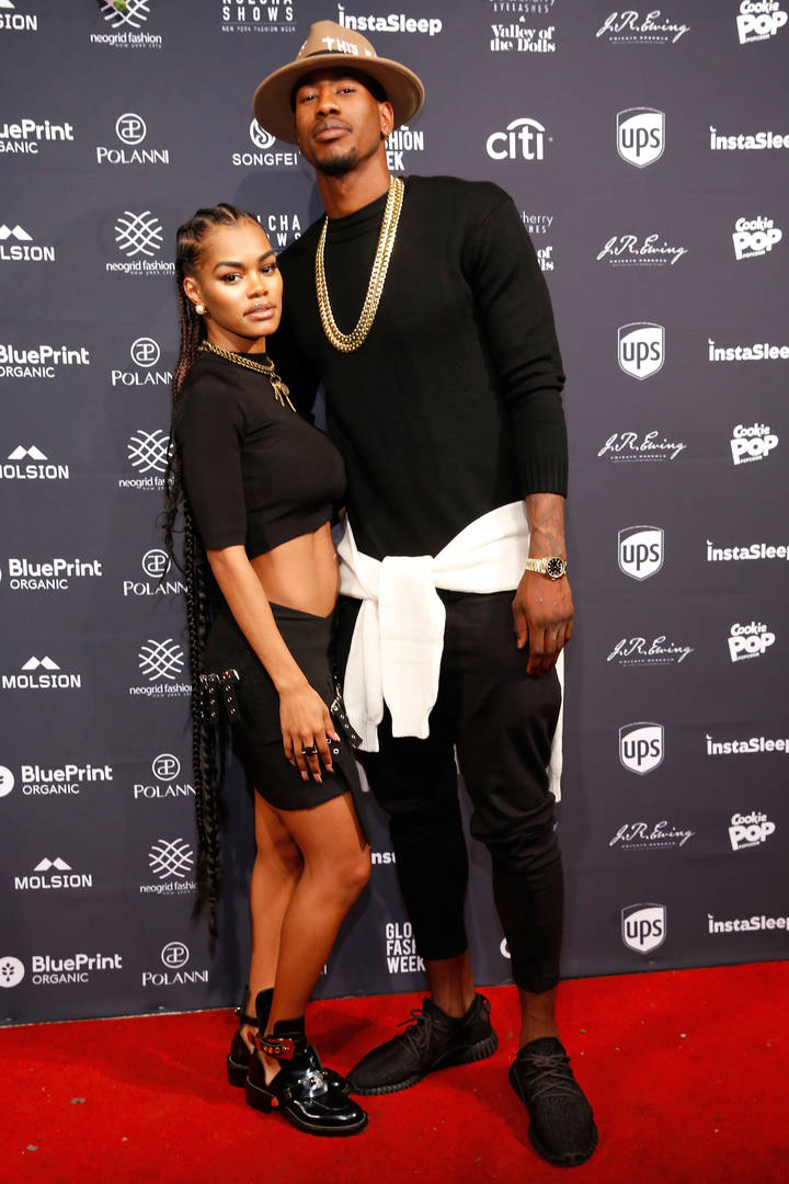 Iman Shumpert, Teyana Taylor, Sexual Partners