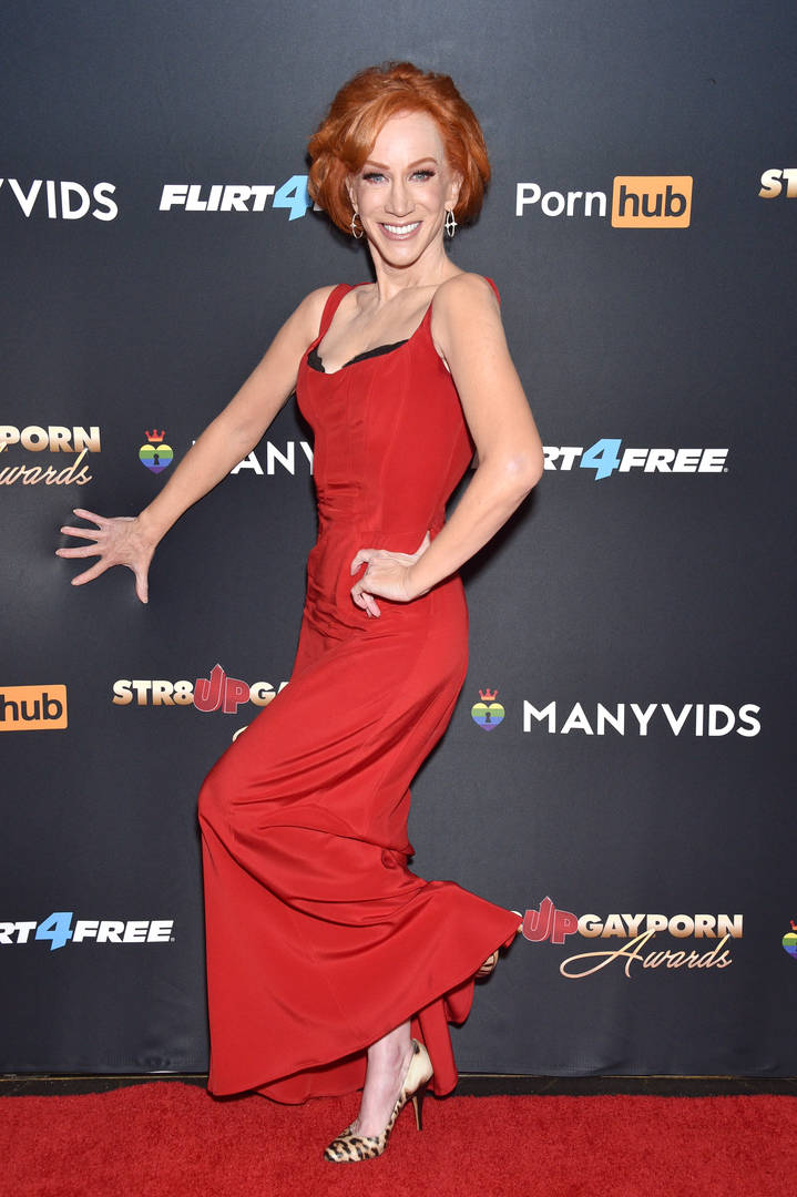 Kathy Griffin In Coronavirus Isolation Ward, Yet Unable To Get Tested