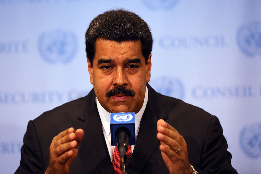 Venezuelan President Charged With Drug Trafficking In U.S.