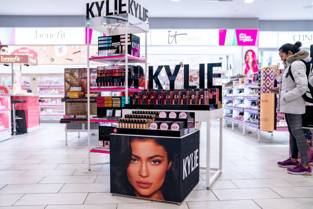Kylie Jenner hand sanitizer custom Coty Inc. Kylie Cosmetics Kylie Skin first responders donation Kris Jenner