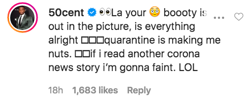 50 Cent La La Anthony