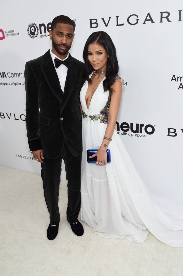Big Sean Jhene Aiko Instagram live propose engagement marriage couple love