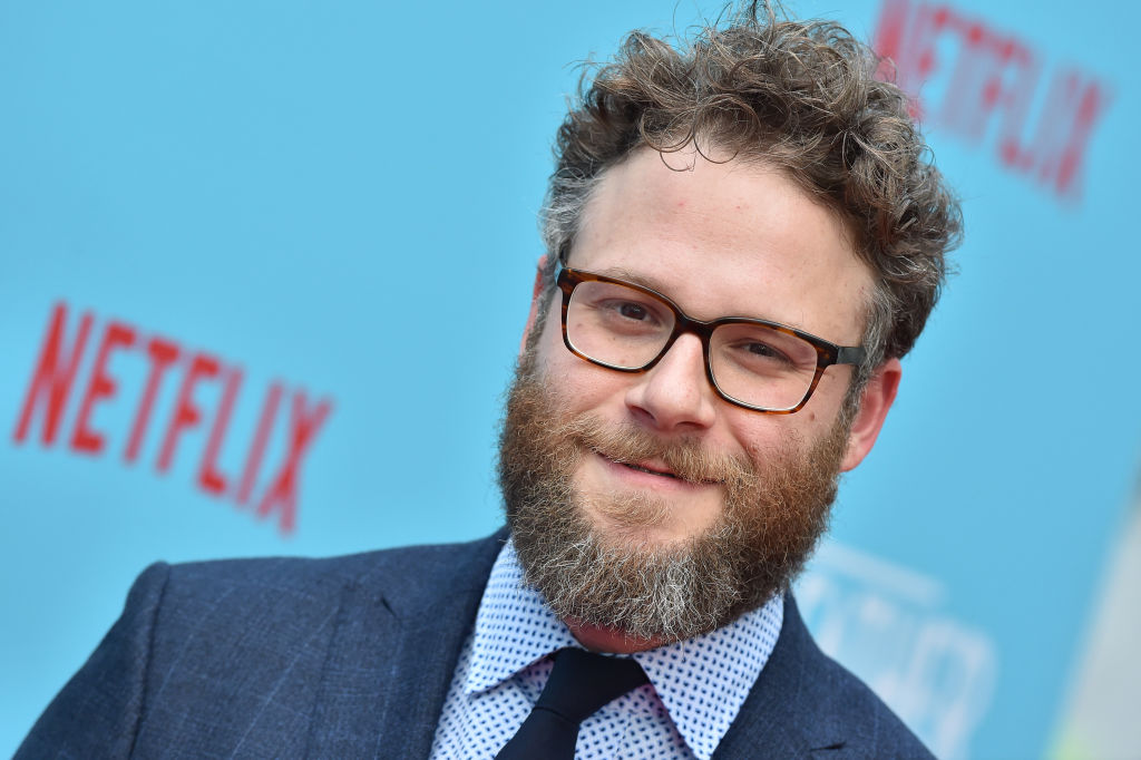 Seth Rogen has been smoking an
