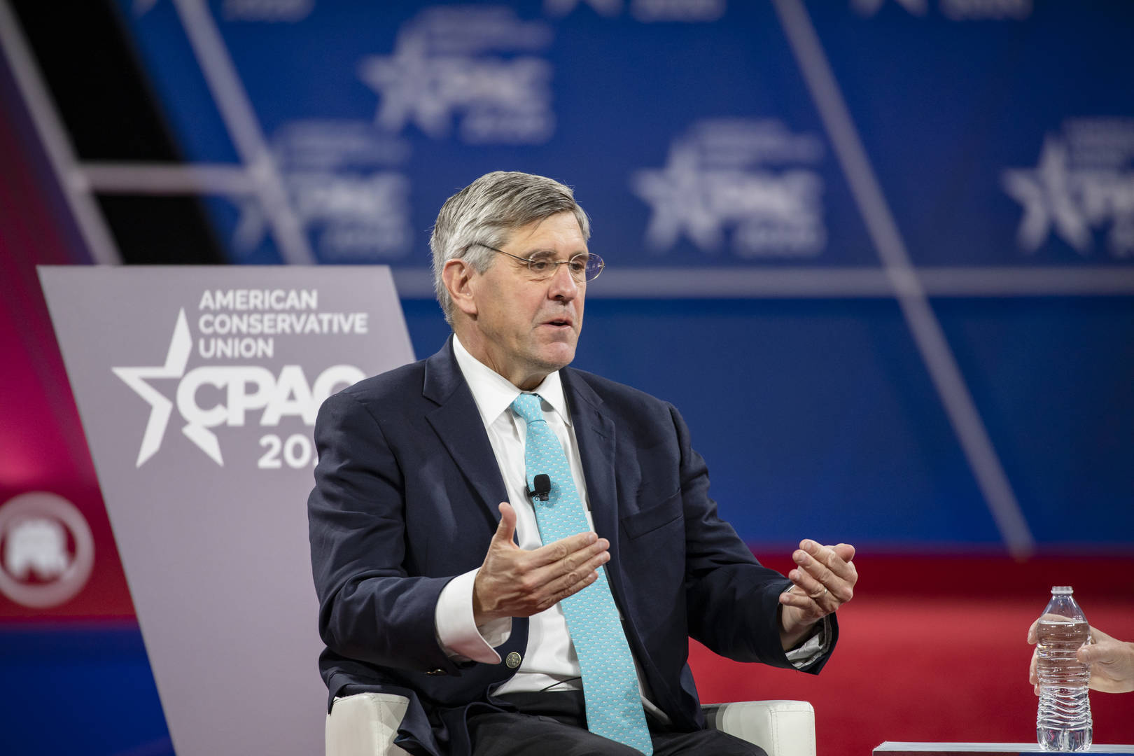 Trump adviser Stephen Moore says economy 'may have turned a corner'