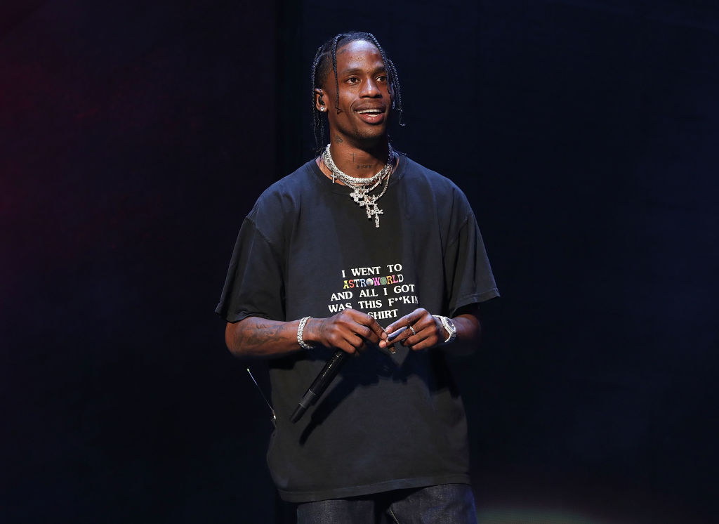 Travis Scott Shares Childhood Picture & Birthday Message