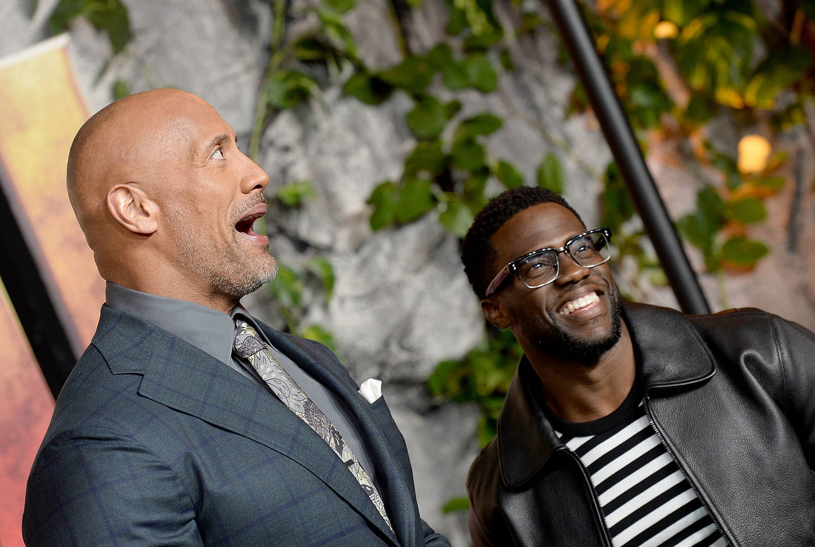The Rock Teases Kevin Hart While Accepting Kids' Choice Award