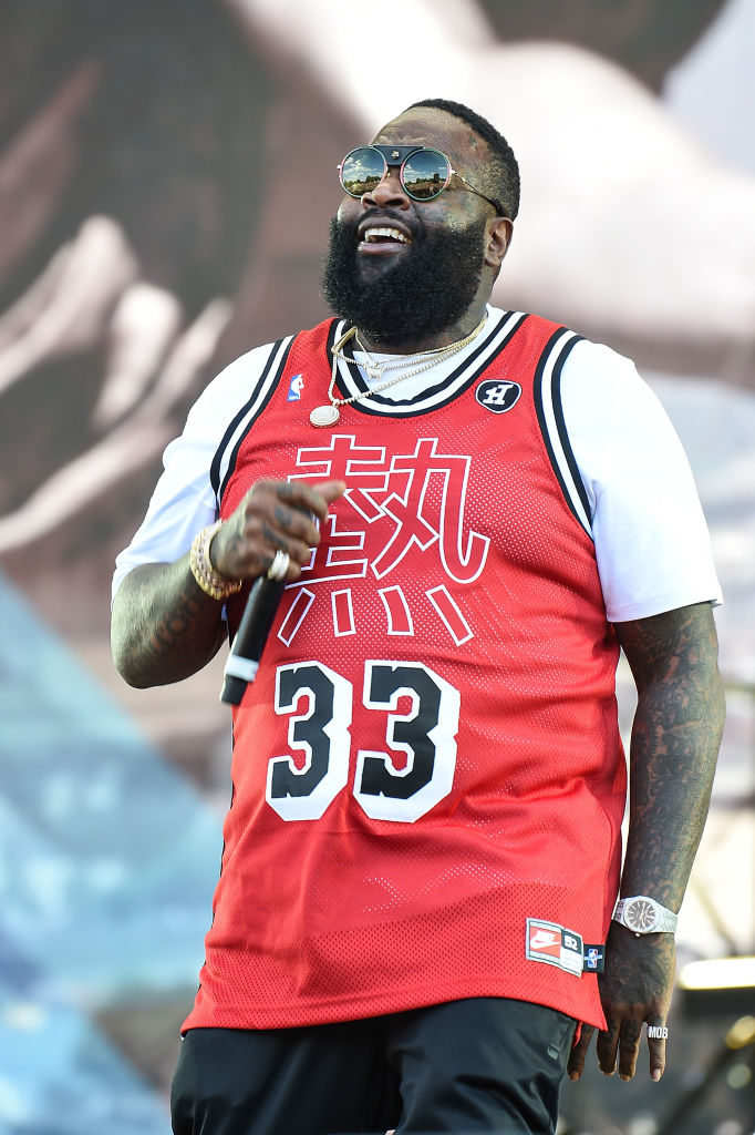 Rick Ross Goes War-Mode With New Maybach