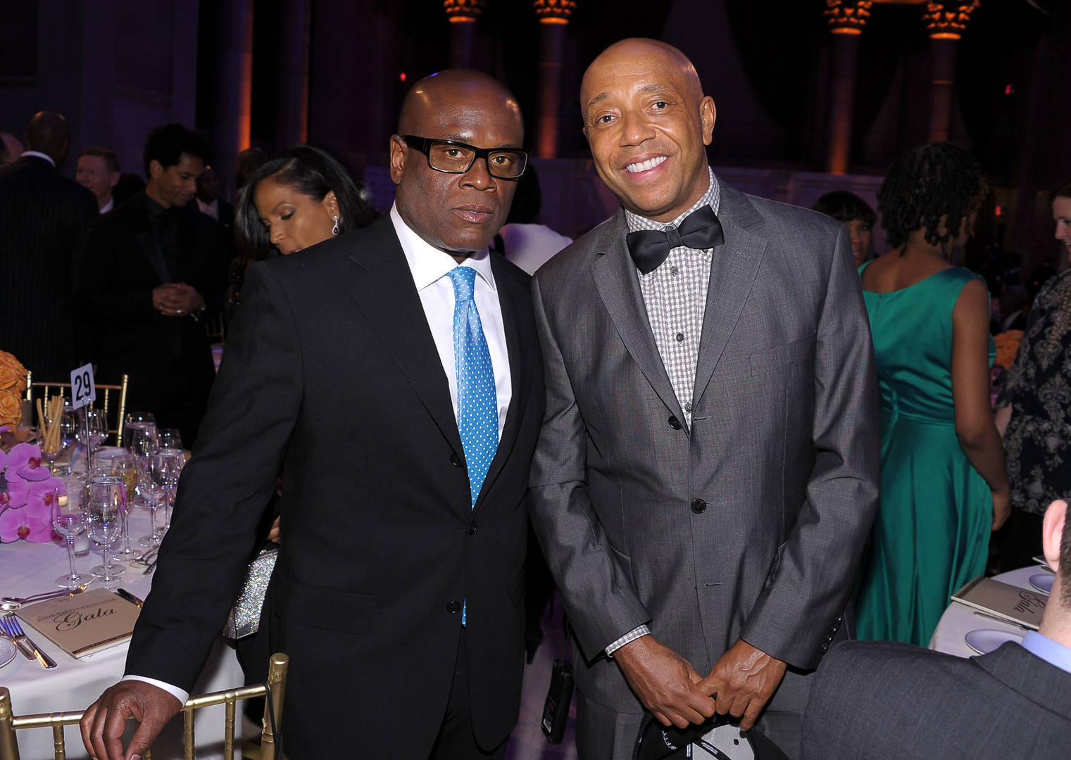 L.A. Reid, Russell Simmons, On The Record