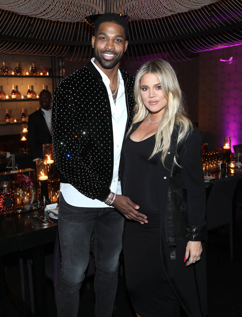 khloe kardashian tristan thompson baddie instagram photo support ex cheating scandal