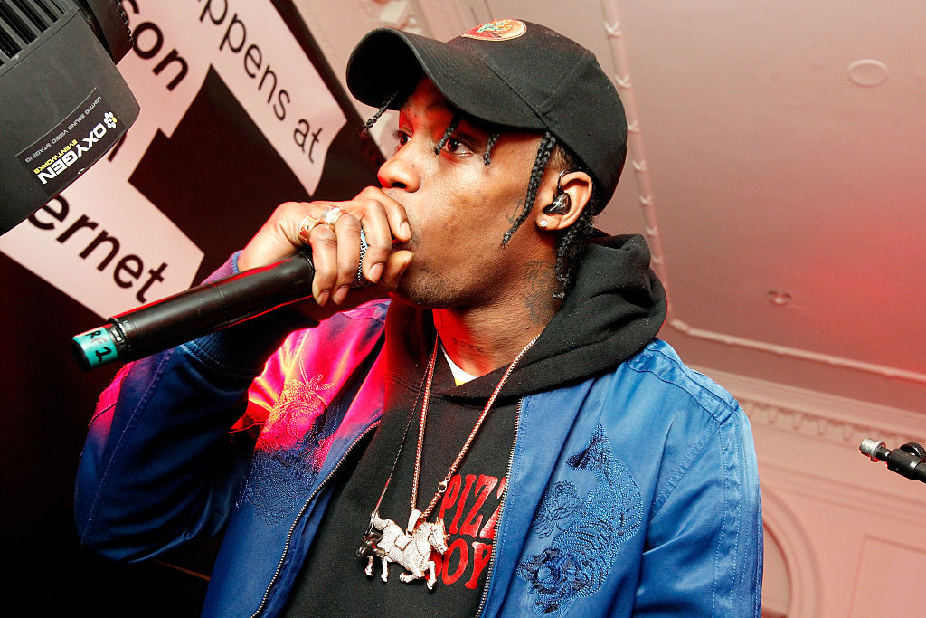 "Rosalia & Travis Scott Tease ""TKN"" Single"
