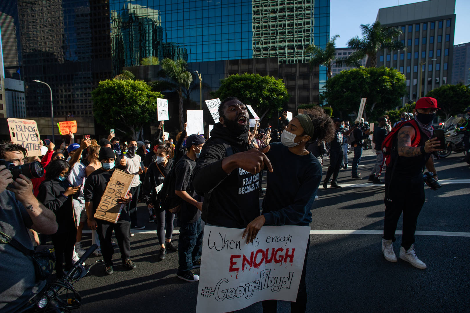 L.A. Mayor Imposes Curfew Following Protests Over Dead Of George Floyd