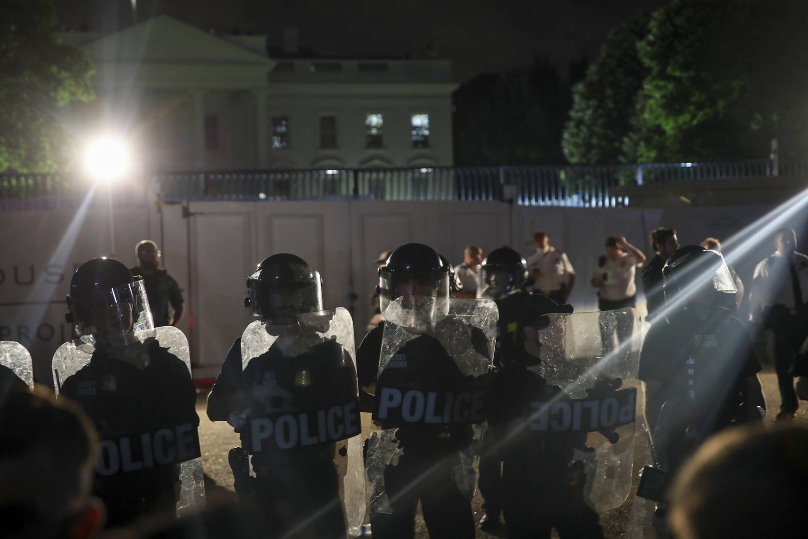 Donald Trump, White House, Protests