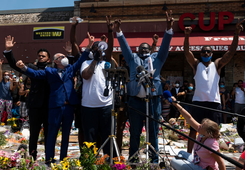 George Floyd Family Joined By Bun B, Trae Tha Truth During Houston March