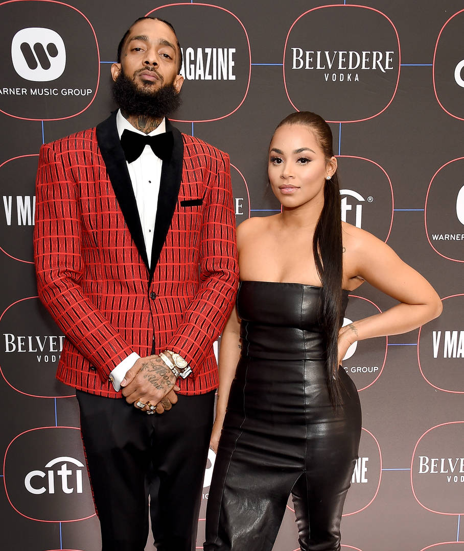 lauren london nipsey hussle jada pinkett smith red table talk gun violence trauma women george floyd ahmaud arbery breonna taylor police brutality