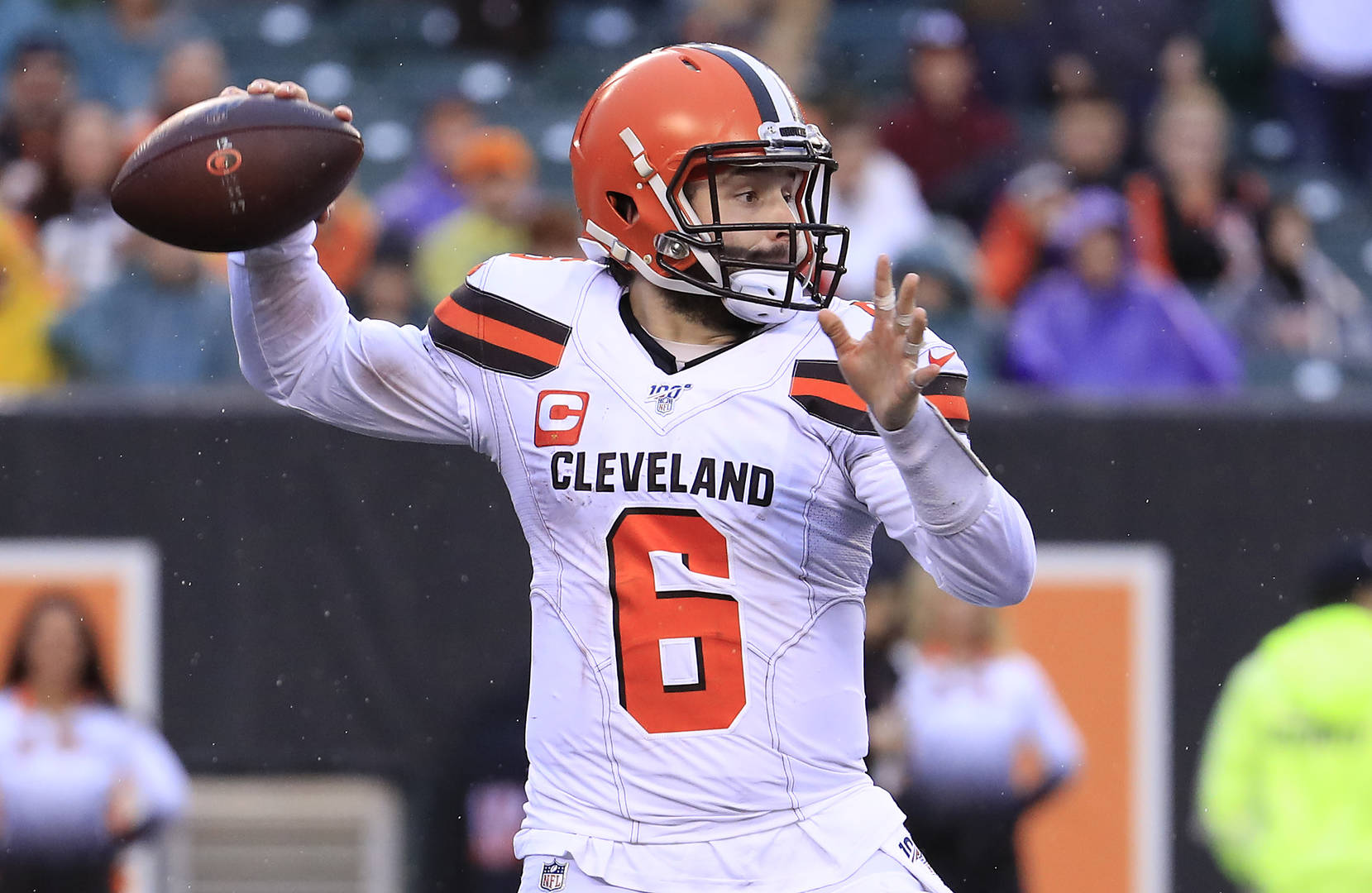 Browns' Baker Mayfield 'absolutely' will kneel during national anthem