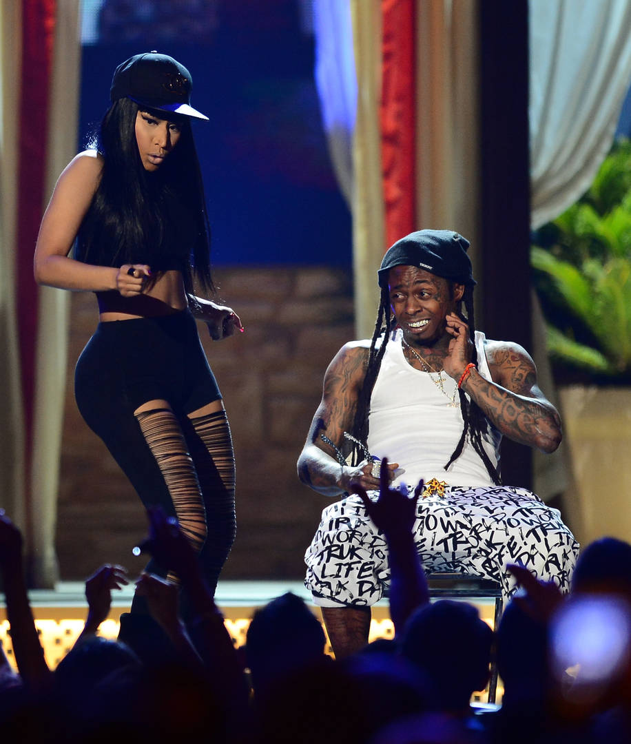 Lil Wayne & Nicki Minaj Plot On Releasing A Joint Project