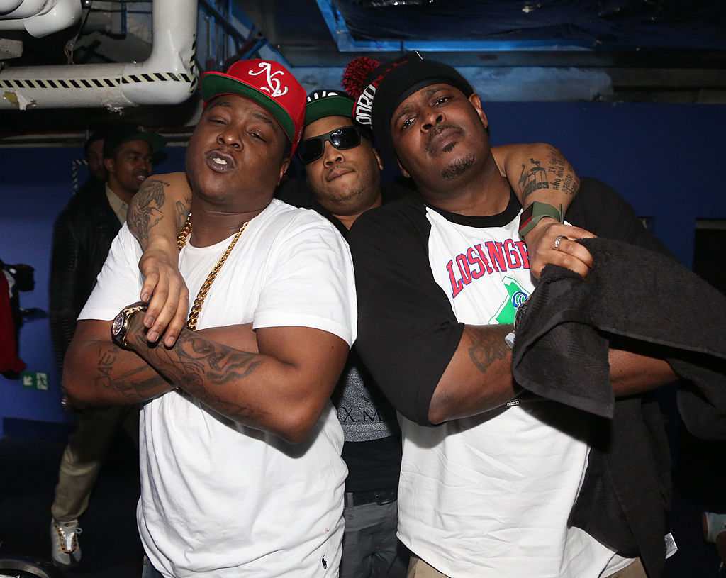 The LOX Jadakiss Styles P Sheek Louch