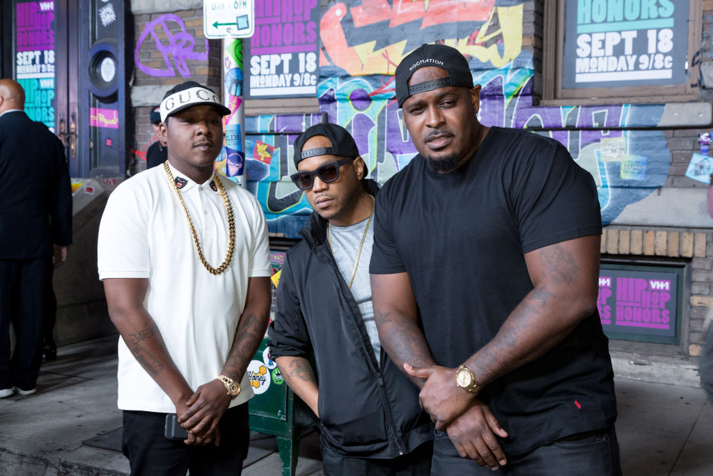 The LOX Styles P Sheek Louch Jadakiss