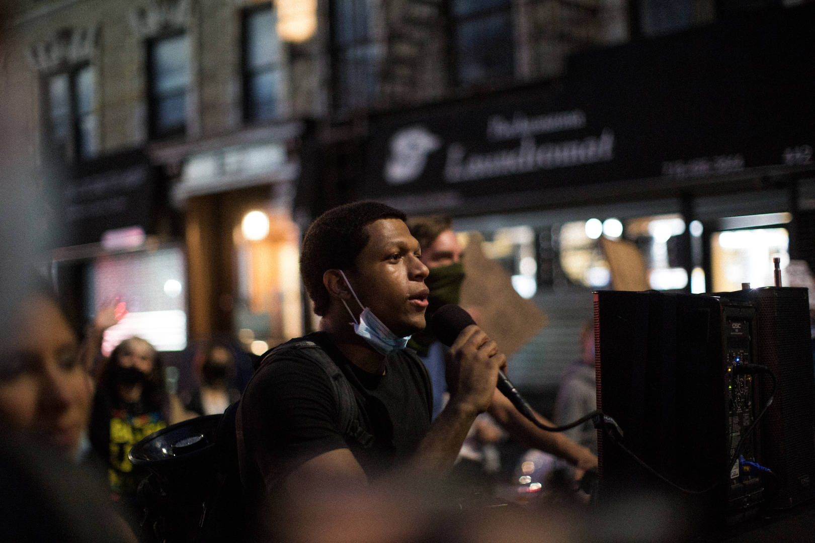 BLM NYC protester