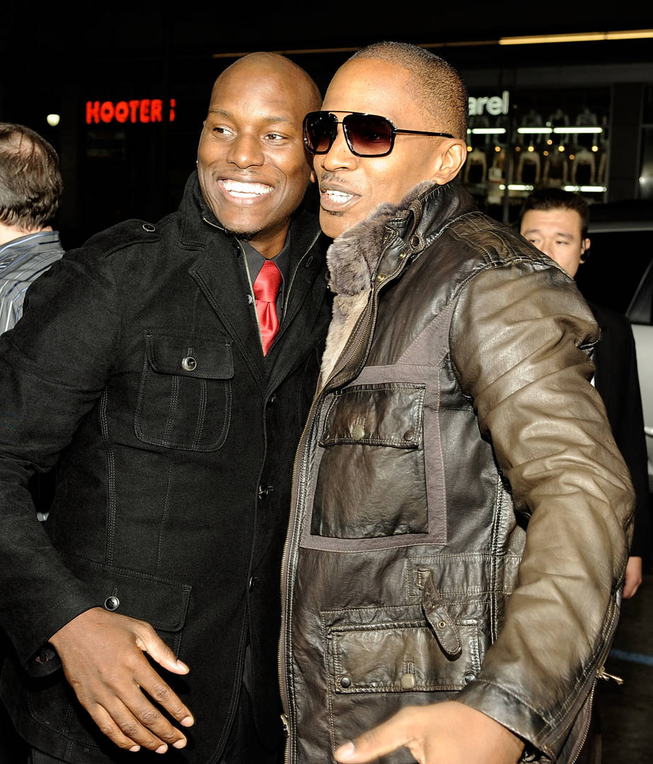 jamie foxx tyrese gibson reverse racism denial post South Africa