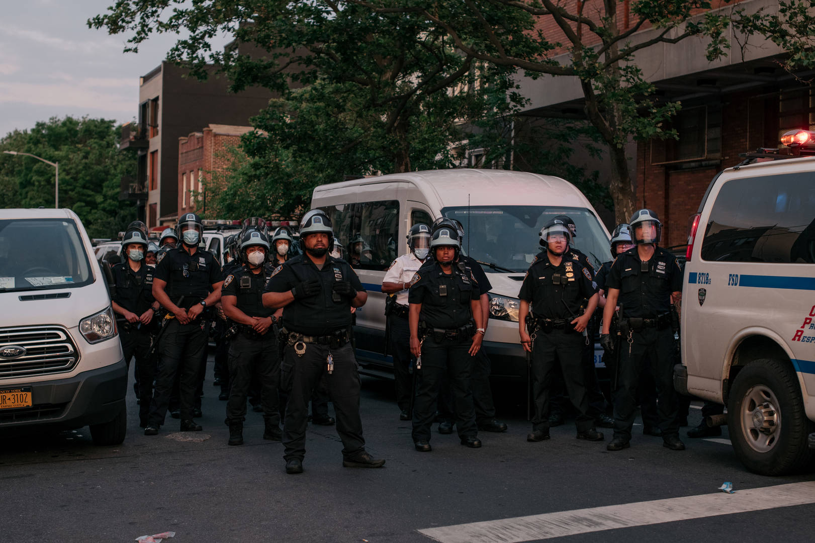 NY police officer suspended over apparent chokehold incident