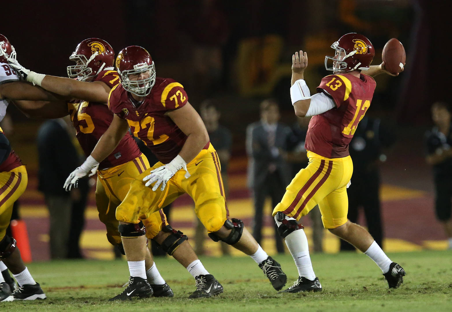 Max Tuerk, USC, Chargers