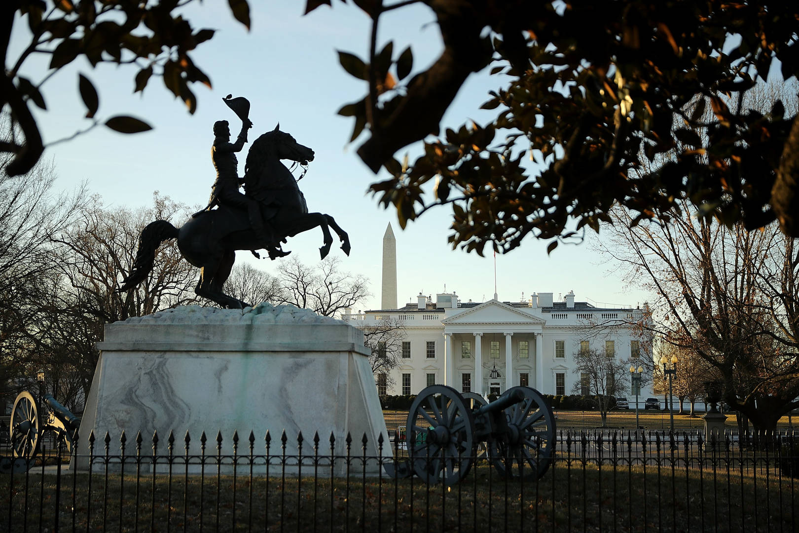 White House, Andrew Jackson, Protests, Statue