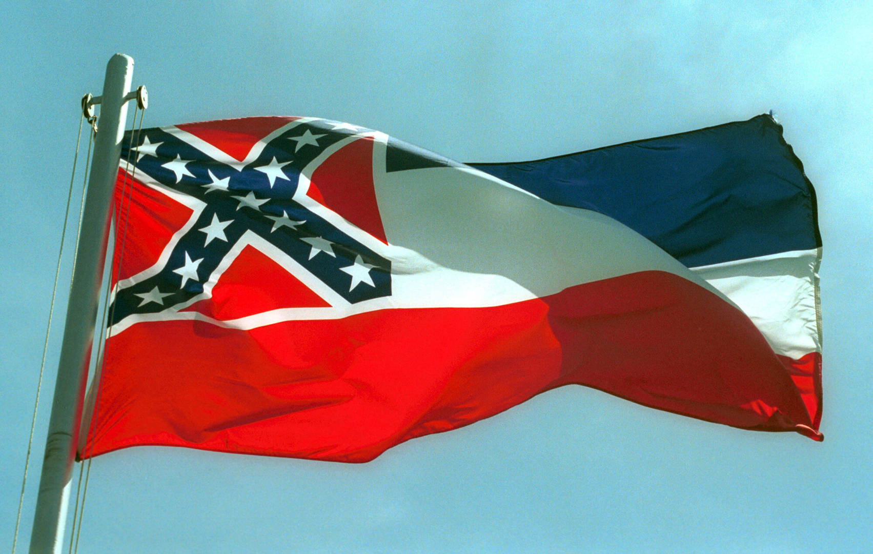 Walmart removes MS state flag