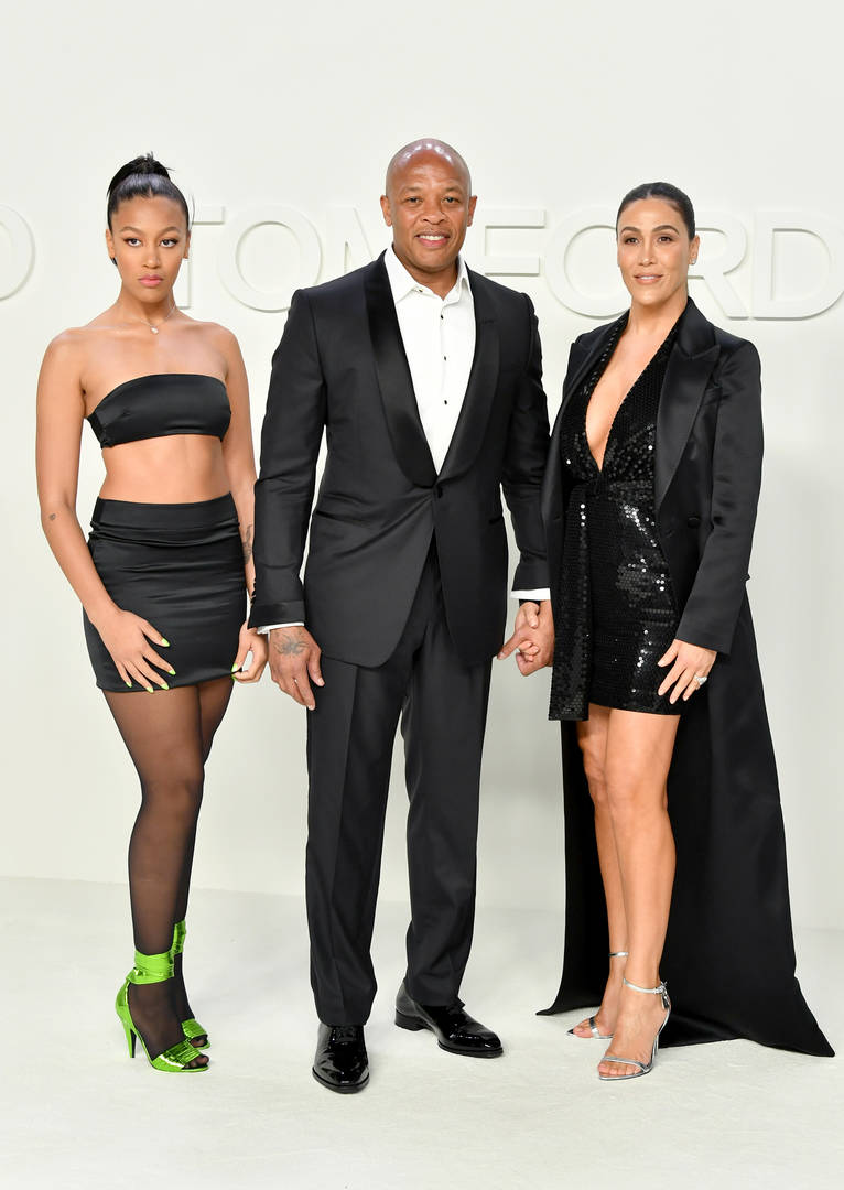 dr. dre and daughter truly young