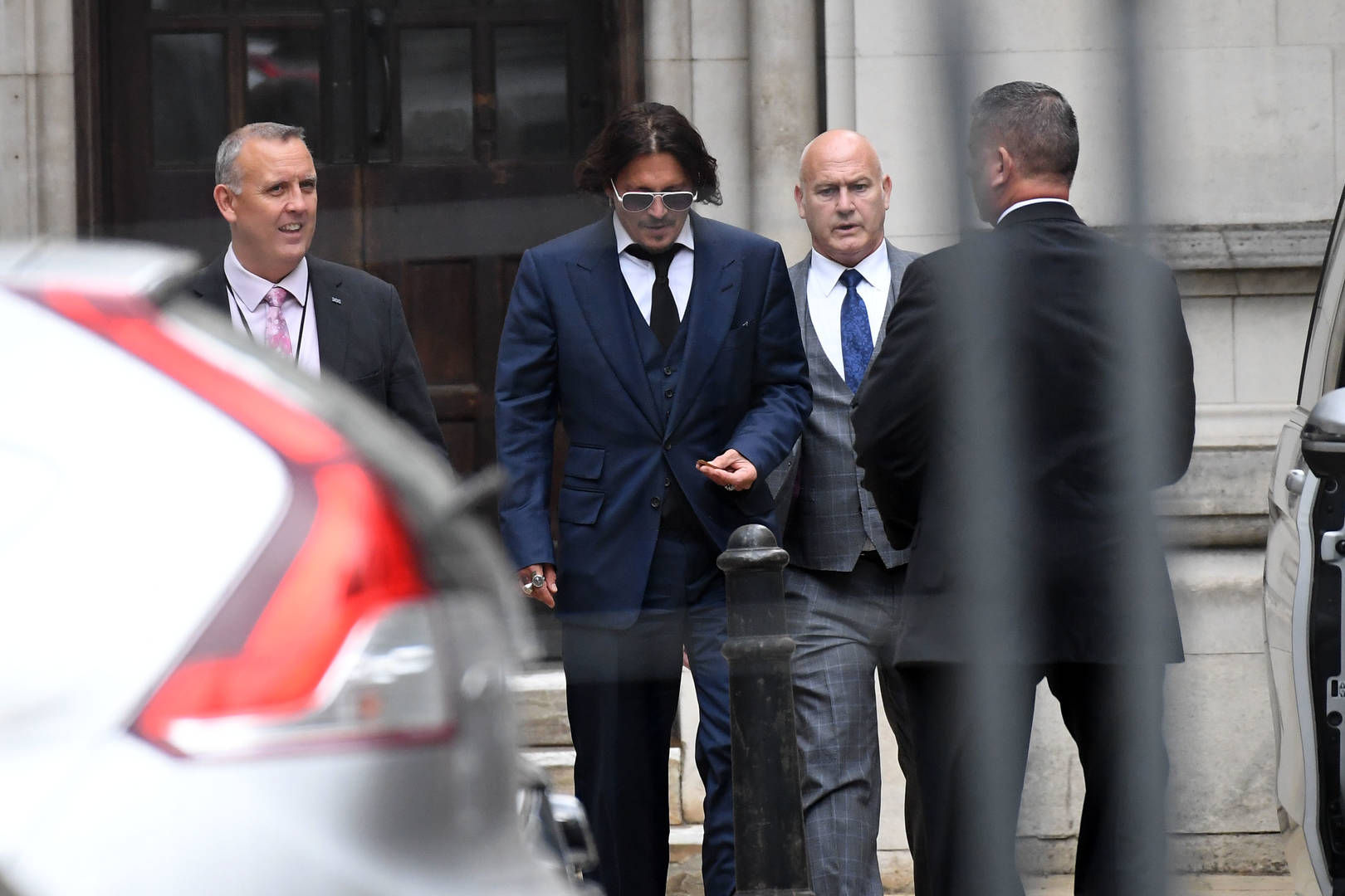Johnny Depp seen lying bloodied with a mutilated finger in resurfaced photos