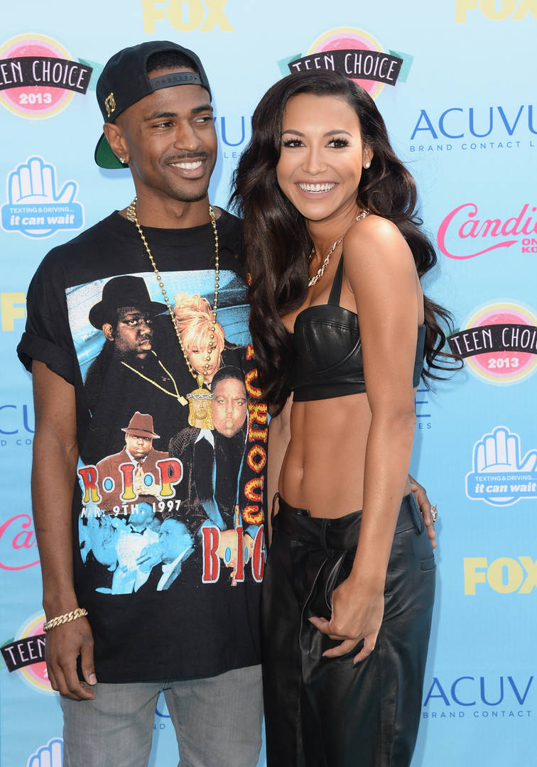 big sean naya rivera missing