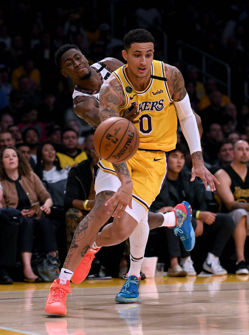 Winnie Harlow model Boyfriend Kyle Kuzma lakers basketball Happy Birthday