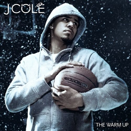 j cole the warm up cover art