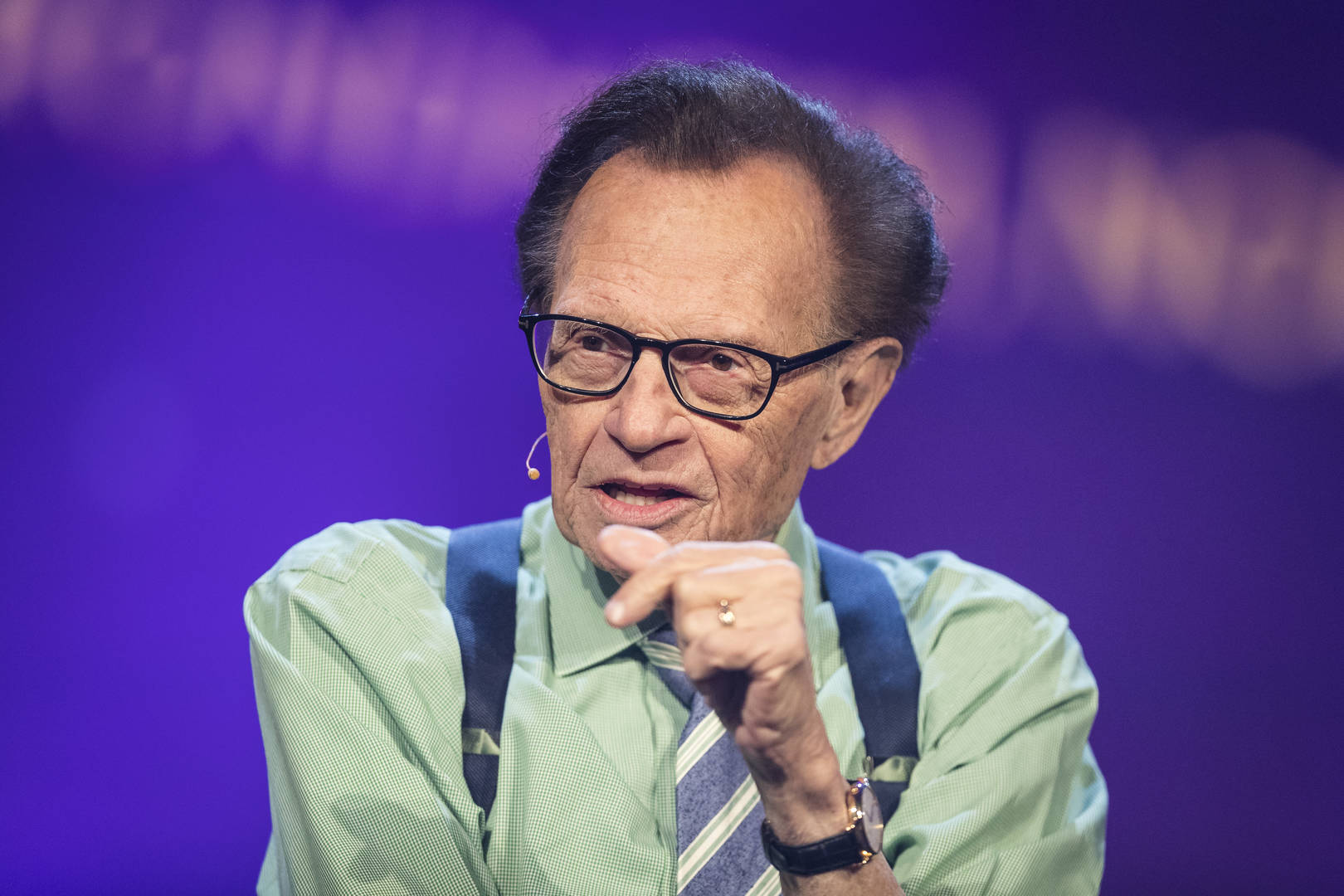 Larry King, Children, Death