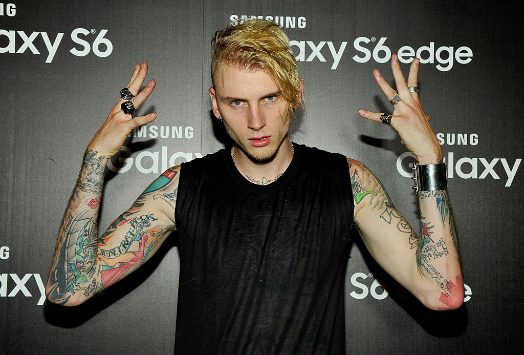 Machine Gun Kelly Halloween