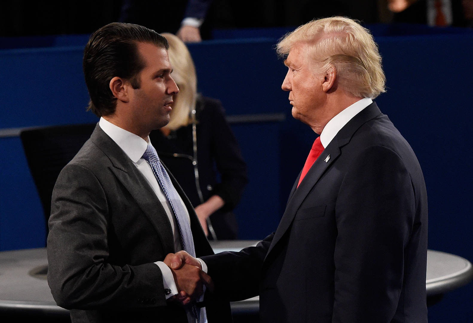 Donald Trump Jr refuses to condemn Kyle Rittenhouse double killings